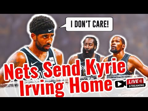 Brooklyn Nets say Kyrie Irving won't play, practice until eligible | Kyr...