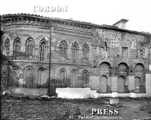Mezquita del Cristo de la Luz de Toledo hacia 1875-80. © Léon et Lévy / Cordon Press - Roger-Viollet