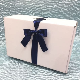Ella Small Wedding Dress Box with Satin Ribbon