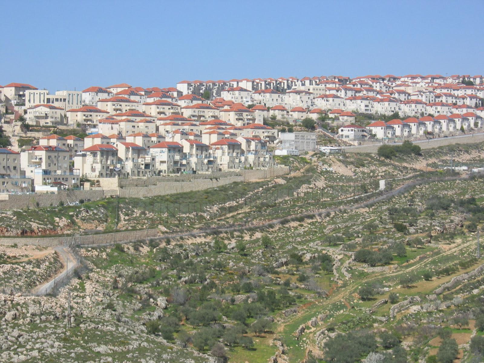 Nahhalin-نحّالين: مستوطنة بيتار المقامة على أراضي نحالين ,حوسان ووادي فوكين