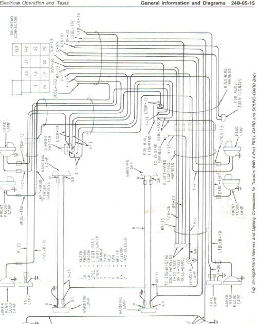 31 John Deere 4440 Wiring Diagram