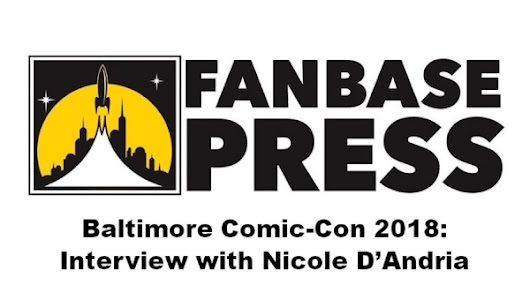 Fanbase Press - Baltimore Comic-Con 2018: Fanbase Press Interviews Action Lab Entertainment's Nicole D'Andria
