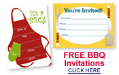 free bbq party invitations