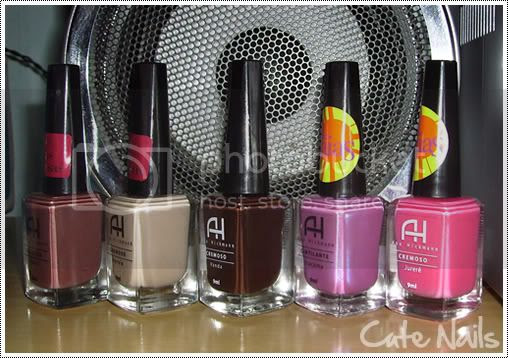 Cute Nails: Esmaltes Ana Hickmann