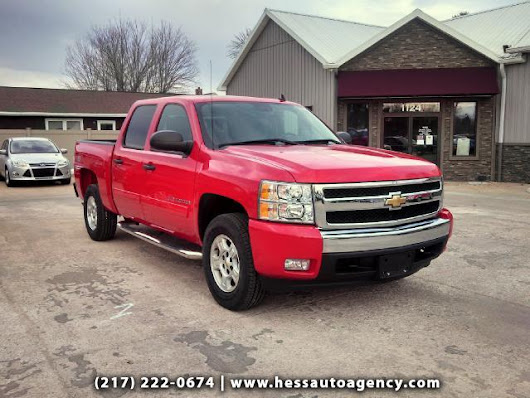 Used 2008 Chevrolet Silverado 1500 for Sale in Quincy IL 62301 Hess Auto Agency