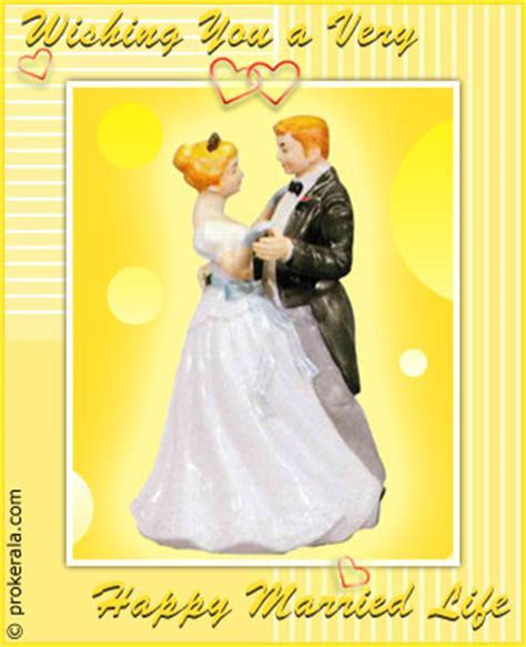 Happy Married Life   Prokerala Greeting Cards