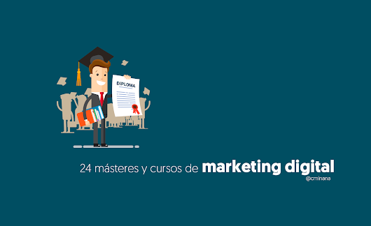 Cursos de Marketing Digital y Másteres para ser un profesional