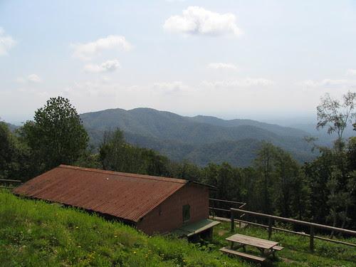 Il rifugio ANA sul Monte Fenera