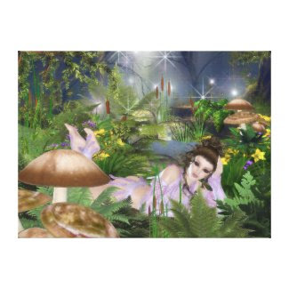 Elven Beauty Gallery Wrap Canvas