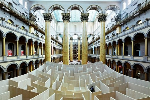 The new #bigmaze by BIG Architects and Bjarke... | missdesignsays | #allgoodthingsdanish