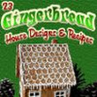 """23 Gingerbread House Designs and Recipes"" eBook 