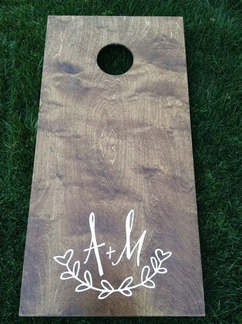Best 20  Wedding Corn Hole ideas on Pinterest   Corn hole