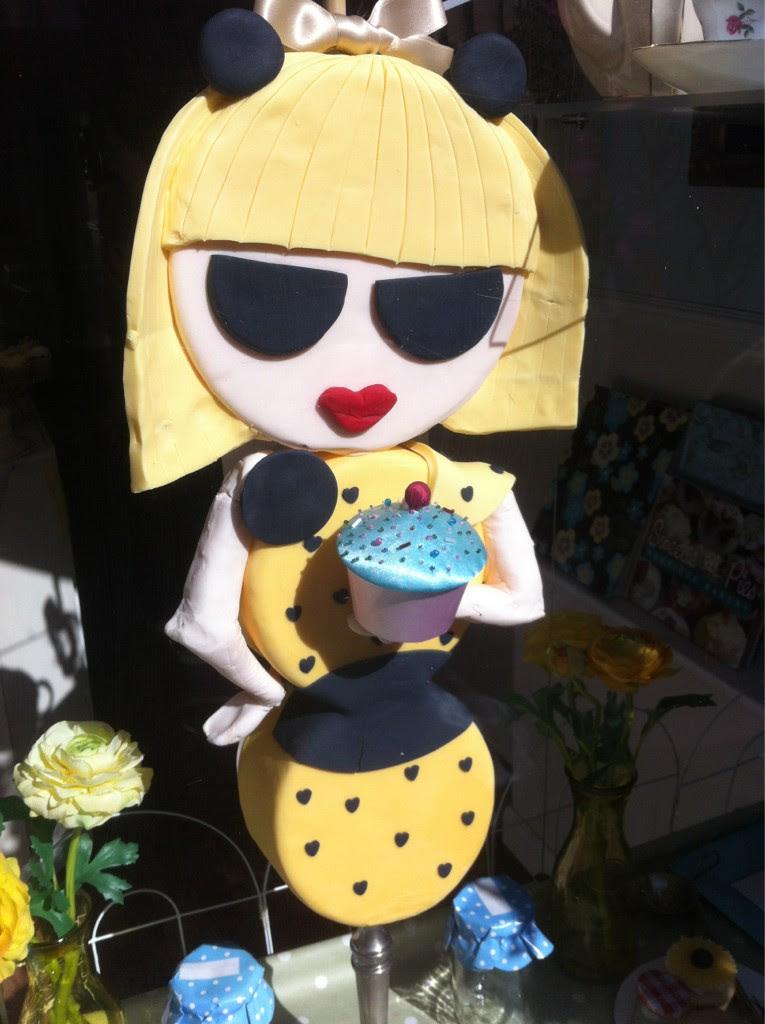 Lady Gaga at Sweetie Pies