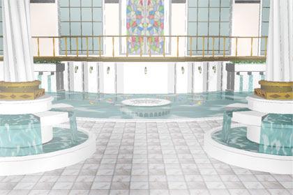 MMD Roman Bath