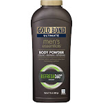 Gold Bond Men's Essential Body Powder, Refresh 360 Degrees Scent, Ultimate - 10 oz