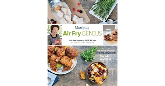 Book giveaway for Air Fry Genius by Meredith Laurence Oct 09-Nov 09, 2017