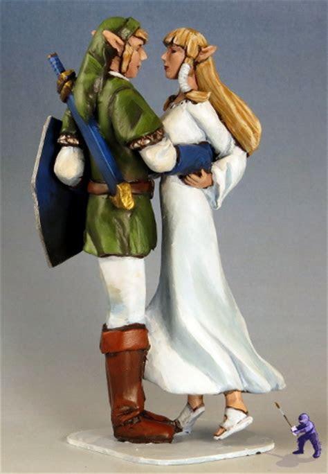 Elven Wedding Cake Toppers