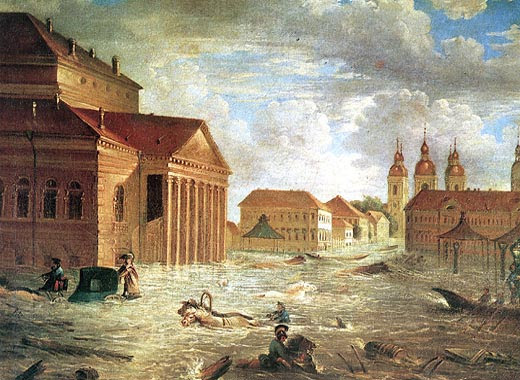 St. Petersburg Floods, Russia