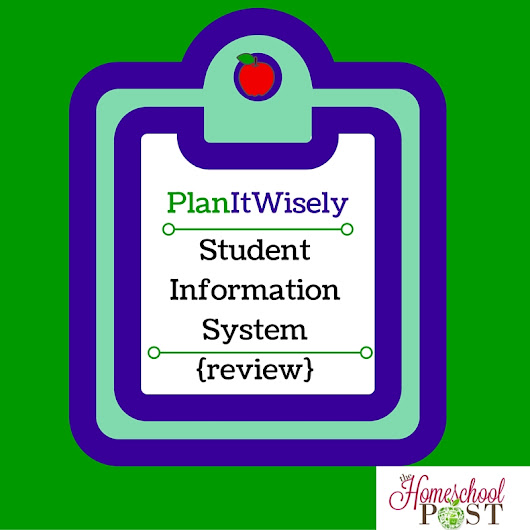 PlanItWisely Student Information System {review} - The Homeschool Post