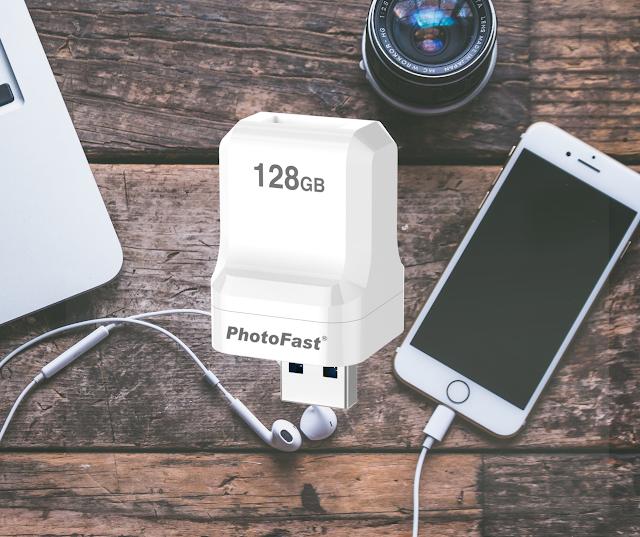 【充電+Backup】Photofast Photocube SE Apple 專用備份方塊 支援 iPhone、iPad