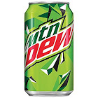 Mountain Dew - 18 pack, 12 fl oz cans