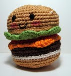 Hamburger-Kun has a happy!