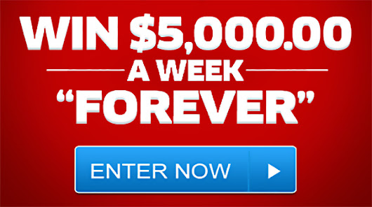 PCH $5000 a Week Forever Sweepstakes Entry