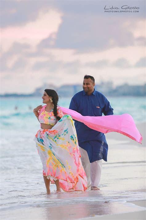 . Tej and Garry pre wedding photos Cancun   Indian