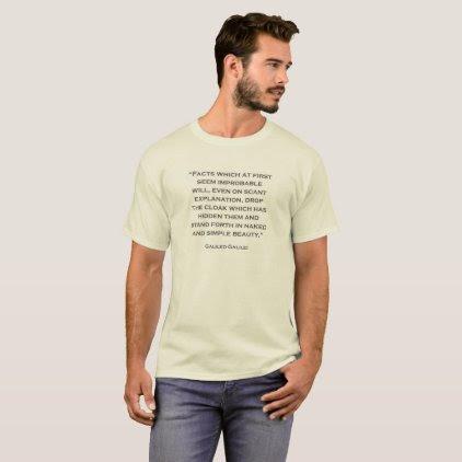 Quote Galileo Galilei 07 T-Shirt