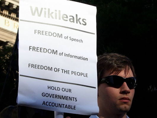 Julian Assange and Wikileaks' service to journalism should be applauded