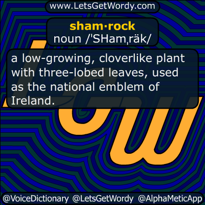 shamrock 03/18/2017 GFX Definition