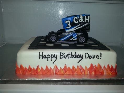 Sprint car cake   Cakes for Mom..Dad Wife Husband