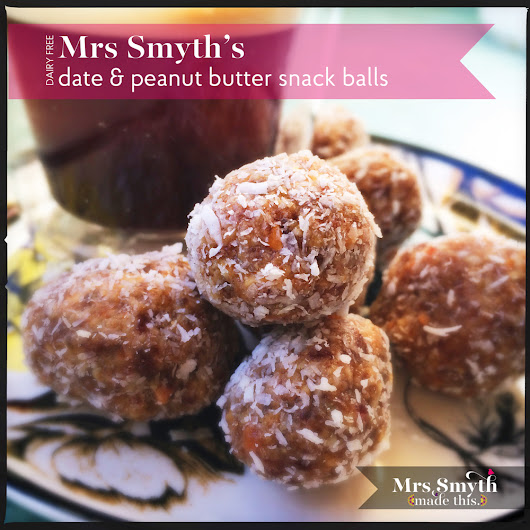 Date & Peanut Butter Balls - My Sugar-Free Shop