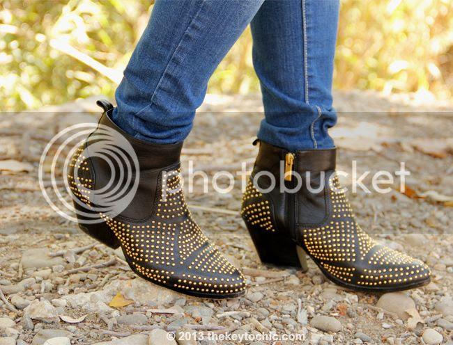 Old Navy Rock Star skinny jeans, Dolce Vita Rezzie boots