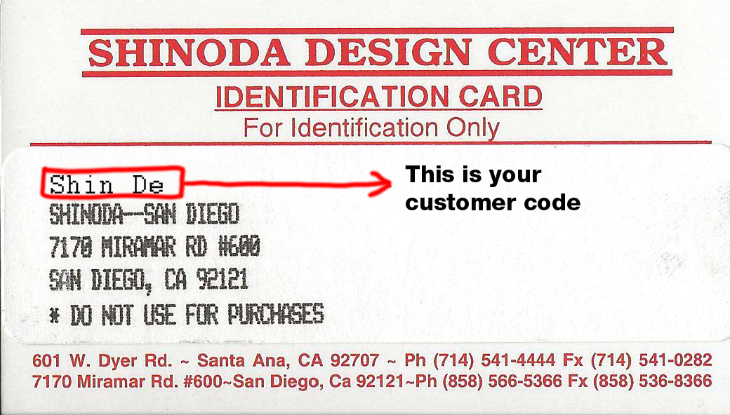 How To Activate Your Account Shinoda Design Center