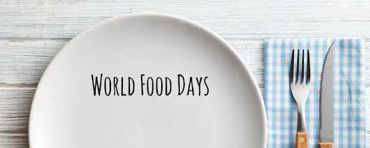 World Food Days Calendar 2017 • Just In Time Gourmet