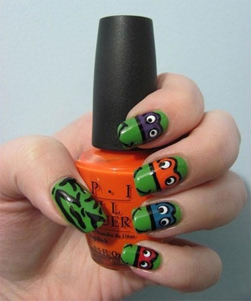 20 Teenage Mutant Ninja Turtles Nail Art Designs, Ideas ...