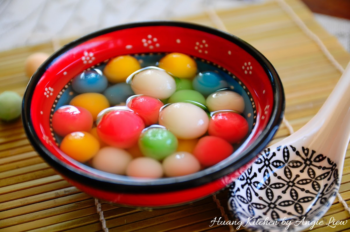 Sweet Glutinous Rice Balls Recipe (Tang Yuan 汤圆)   Huang ...