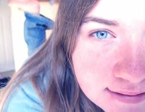 The blue blue eyes