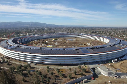 "Check Out the Progress on Apple's ""Spaceship"" Campus #2…"
