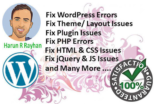 I will fix WordPress Error and Issue in 24 Hours
