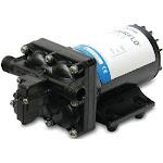 Shurflo Blaster II Black 45 PSI 35 GPM Washdown Pump 9 x 5 x 4 1/8 4238-121-E07