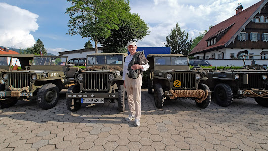 My German Grandpa's First Ride In A World War II Jeep Since 1945 Was Truly Magical