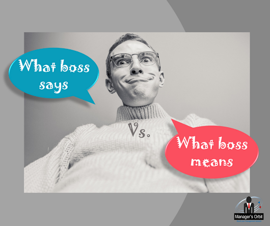 What Boss says vs what boss means. 'Boss Decoder' with 31 examples!