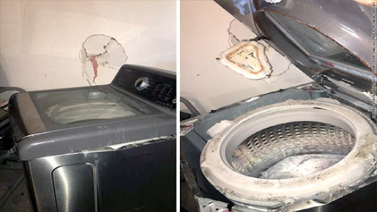 Samsung recall about 2.8 million washing machines for risk of explosion
