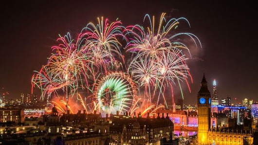 Bid Farewell to 2016 in London this New Year's Eve