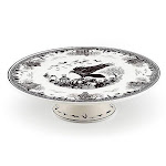 Lenox haunted villages cake plate