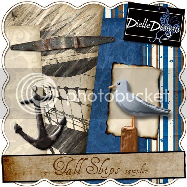 Dielle_TallShips_SamplerPrev.jpg picture by Dielledl