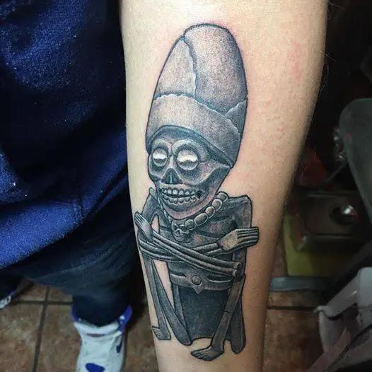 Dios De La Muerte Azteca Tatuaje