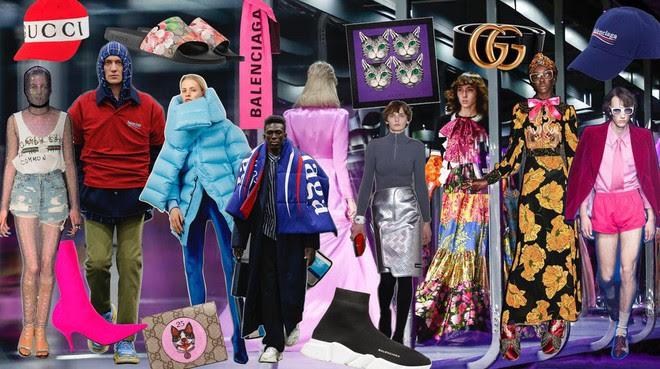 Gucci hay Balenciaga: Nhà mốt nào thống trị toàn cầu trong năm 2017 qua? - Ảnh 1.